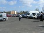 Návštěvníci měli dostatečné parkovací plochy